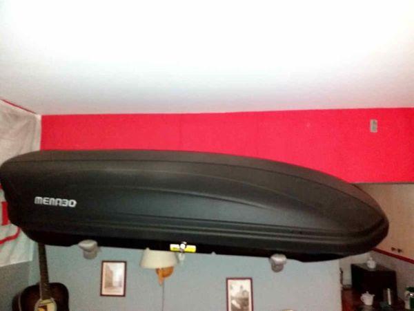 Bagażnik  MENABO XTR 460 czarny mat