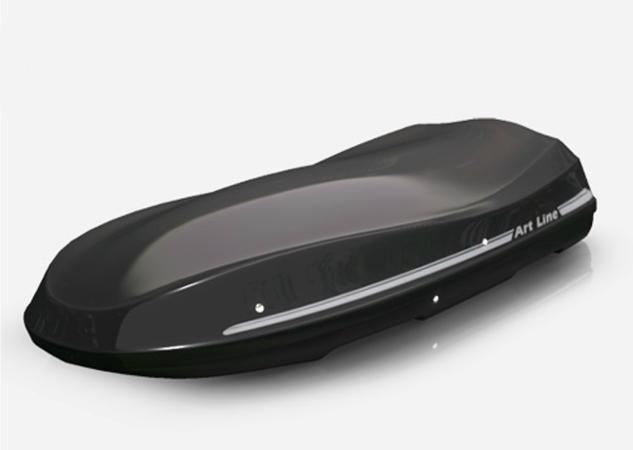 Bagażnik samochodowy JOST Moby Dick XL,XL czarny